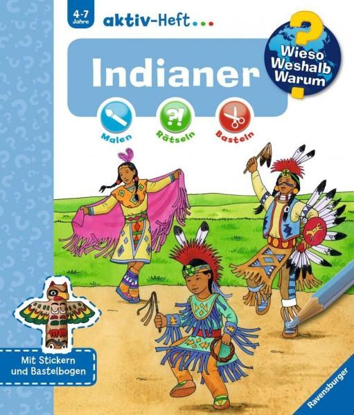 Ravensburger WWW aktiv-Heft Indianer Spielzeug