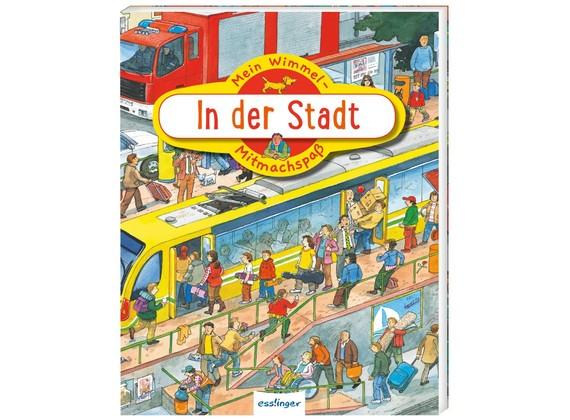Thienemann-Esslinger Verlag Mein Wimmel-Mitmachspaß In der Stadt Spielzeug