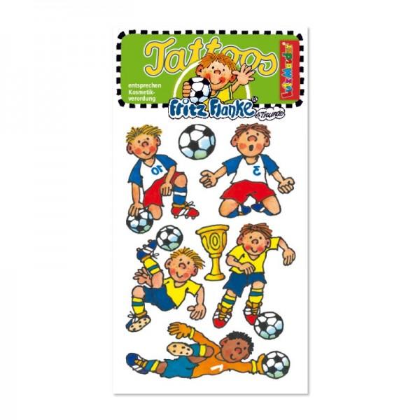 Mauder Lutz Verlag Tattoo Fußballer Fritz Flanke Spielzeug