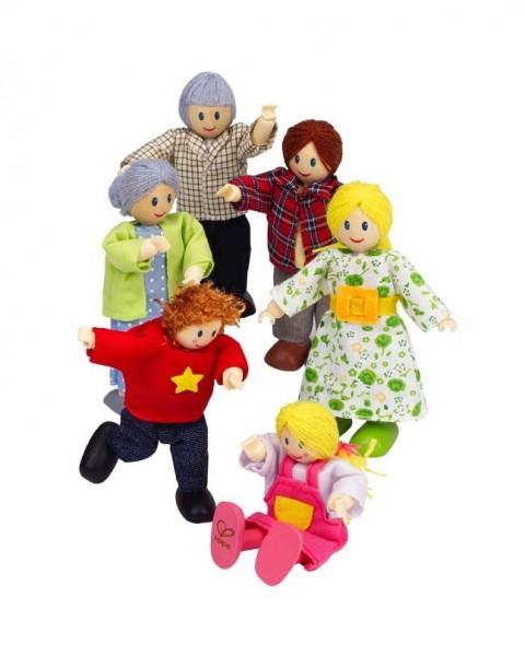 Hape Puppenfamilie ? Helle Hautfar Spielzeug