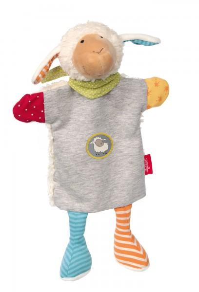 Sigikid Handpuppe und Schnuffeltuch Schaf Boller Schäfle Spielzeug