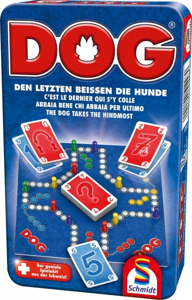 """Schmidt Spiele Der Klassiker """"DOG"""" ist nun auch als Bring-Mich-Mit-Spiel zum kleinen Preis erhältlich. Spielzeug"""