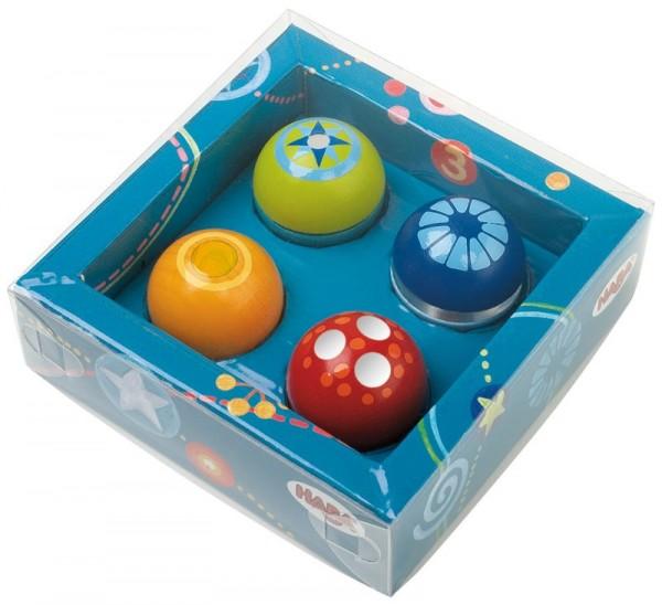 Haba Entdeckerkugeln 4er Set Spielzeug
