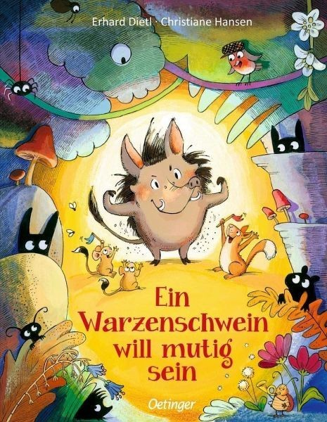 Oetinger Verlag Ein Warzenschwein will mutig sein Spielzeug