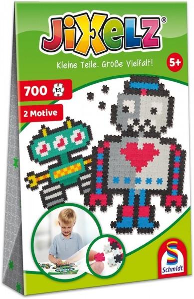 Schmidt Spiele JIXELZ Roboter 700 TEILE Spielzeug