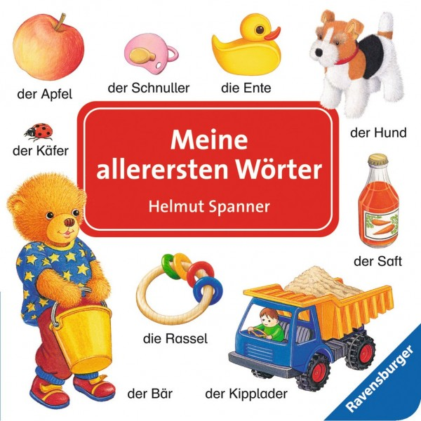 Ravensburger Buch Spanner, Meine allerersten Wörter Spielzeug