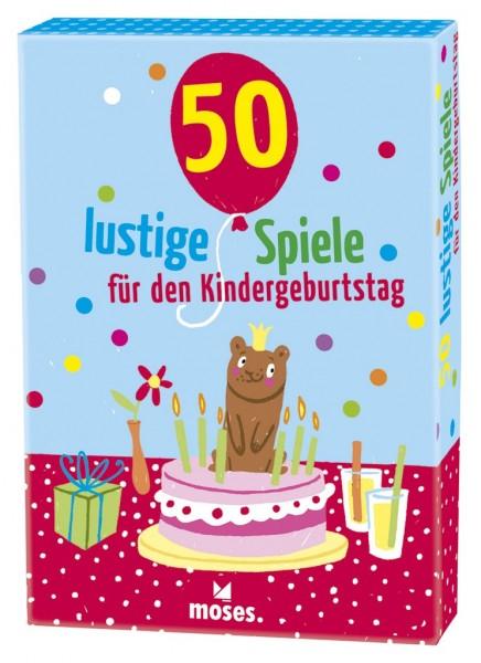 Moses 50 lustige Spiele für den Kindergeburtstag Spielzeug