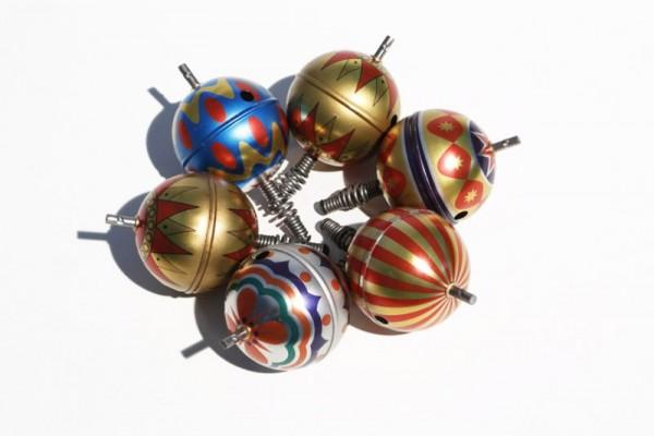 die Blechfabrik Hüpf und Singkreisel Balou Spielzeug