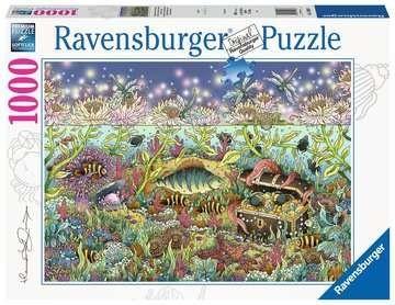 Ravensburger Spiele Ravensburger Puzzle - Dämmerung im Unterwasserreich - 1000 Teile Spielzeug