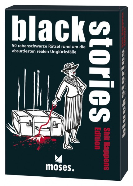 Moses black stories - Shit Happens Edition Spielzeug