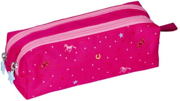 Die Spiegelburg Stifte-Etui Pferdefreunde (pink) Spielzeug