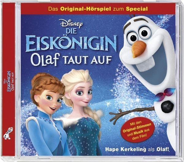BUSCH CD Eiskönigin Olaf taut auf Spielzeug