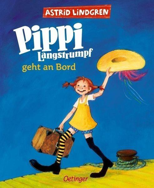 Oetinger Verlag Pippi Langstrumpf geht an Bord (farbig) Spielzeug
