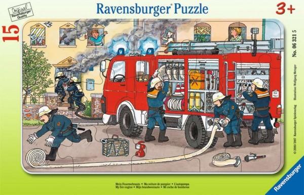 Ravensburger Mein Feuerwehrauto 15 Teile Spielzeug