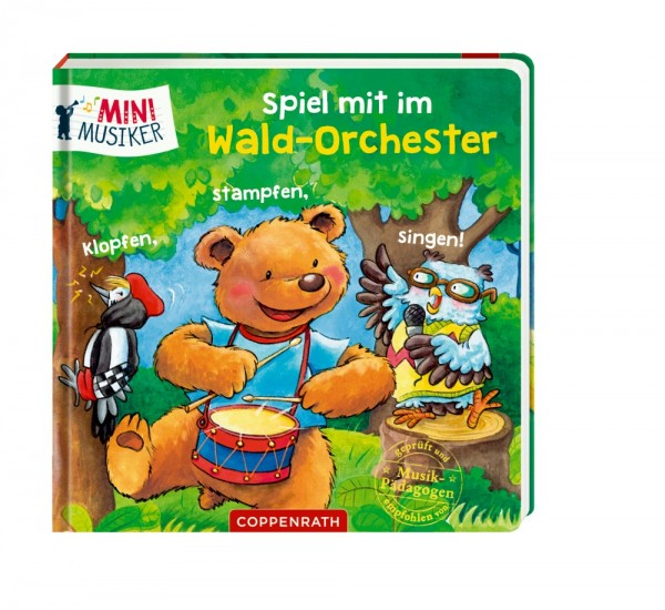 Die Spiegelburg Spiel m.i.Wald-Orchester: Klopfen, stampfen, singen! Spielzeug