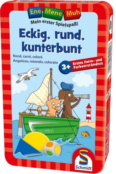 Schmidt Spiele Eckig, rund, kunterbunt Spielzeug