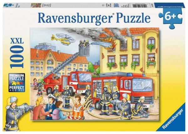 Ravensburger Unsere Feuerwehr Puzzle 100 Teile Spielzeug