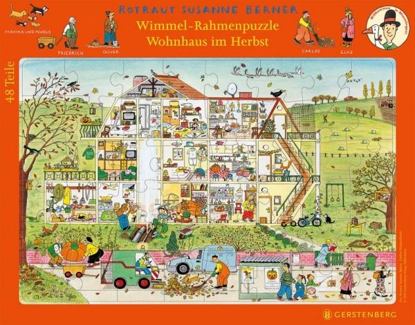 Gerstenberg Wimmelrahmenpuzzle Herbst 107 Teile Spielzeug