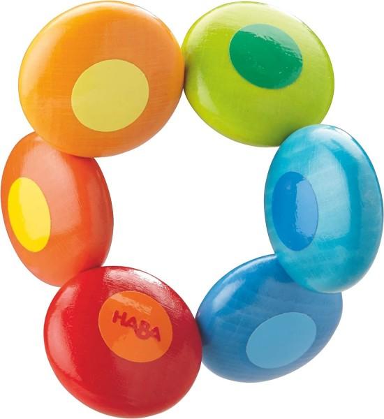 Haba Greifling Regenbogenkreise Spielzeug