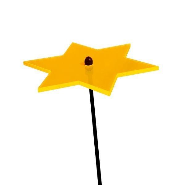 Elliot GmbH Lichtzauber Stern 12cm gelb Spielzeug