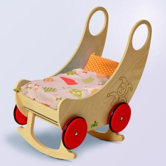nic Wiege Wagen,rot Spielzeug