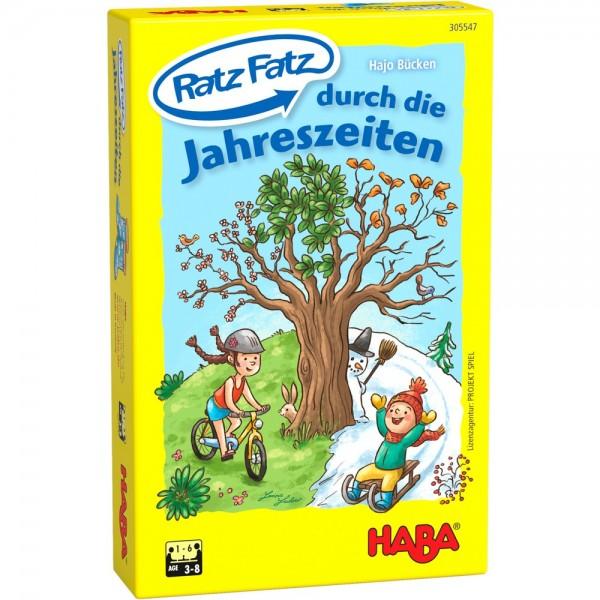 Haba Ratz Fatz durch die Jahreszeiten Spielzeug