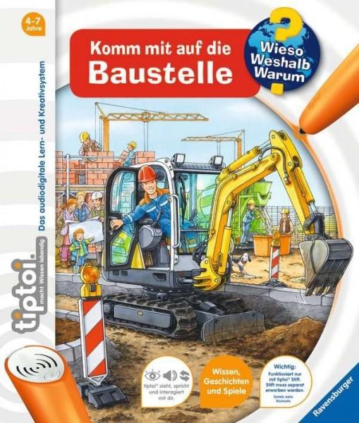 Ravensburger tiptoi® Komm mit auf die Baustelle Spielzeug
