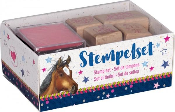 Die Spiegelburg Stempelset Pferdefreunde Spielzeug