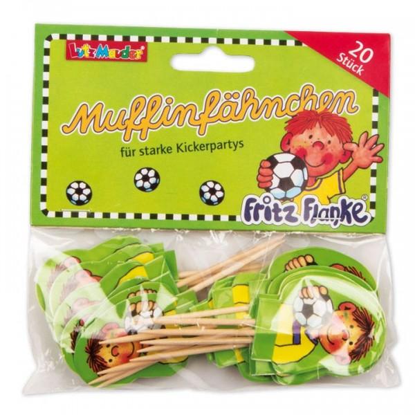 Lutz Mauder Verlag Muffinfähnchen Fußballer Fritz Flanke Spielzeug