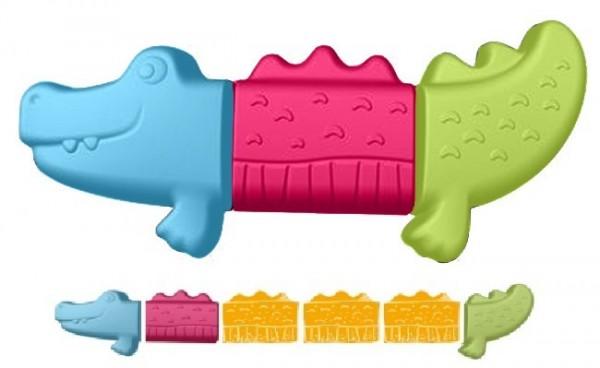 Spielstabil verrückte Tierwelt: Krokodil Spielzeug