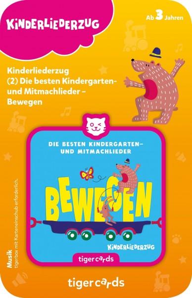 Tigermedia tigercard - Kinderliederzug - Folge 2: Die besten Kindergarten- und Mitmachlieder - Bewegen Spielzeug