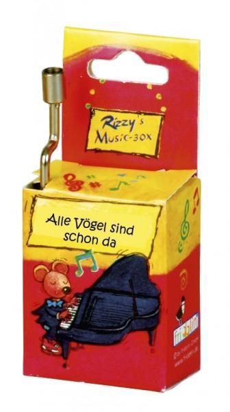 """Fridolin Rizzy Spieluhr """"Alle Vögel"""" Spielzeug"""