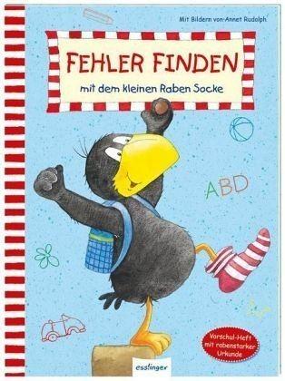 Thienemann-Esslinger Verlag Dr kleine Rabe Socke: Fehler finden mit dem kleinen Raben Socke Spielzeug