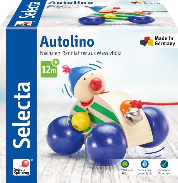Schmidt Spiele Selecta Autolino, Nachzieh Auto Spielzeug