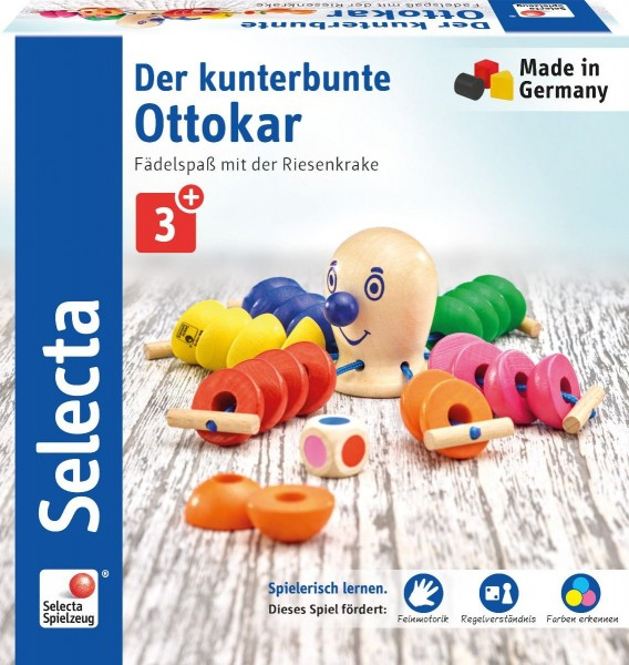 Selecta Der kunterbunte Ottokar Spielzeug