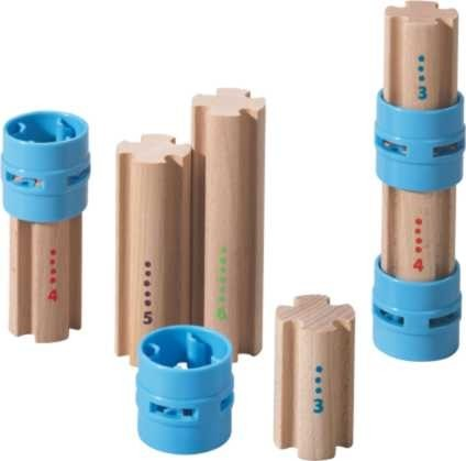 Haba Kugelbahn Kullerbü Ergänzungsset Säulen Spielzeug