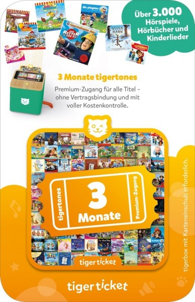 Tigermedia Tigerticket 3 Monate Spielzeug