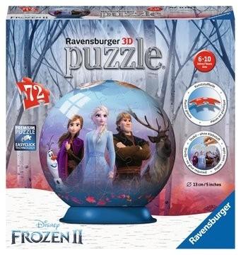 Ravensburger Spiele Disney Frozen2 3D Puzzle Ball Spielzeug