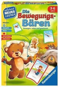 Ravensburger Spiele Die Bewegungs-Bären von Ravensburger ? das Bewegungsspiel für Kinder von 3-6 Jahren Spielzeug