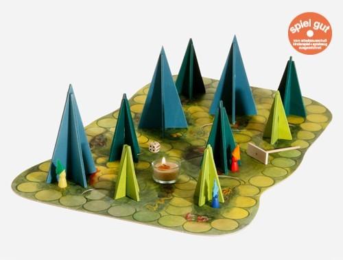 Kraul Märchenhaftes Waldschattenspiel Spielzeug