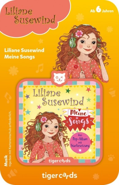 Tigermedia tigercard - Liliane Susewind - Meine Songs Spielzeug