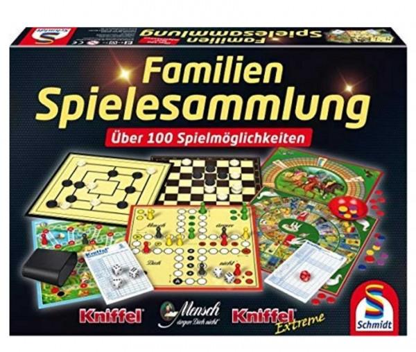Schmidt Spiele 100er Familienspielesammlung Spielzeug