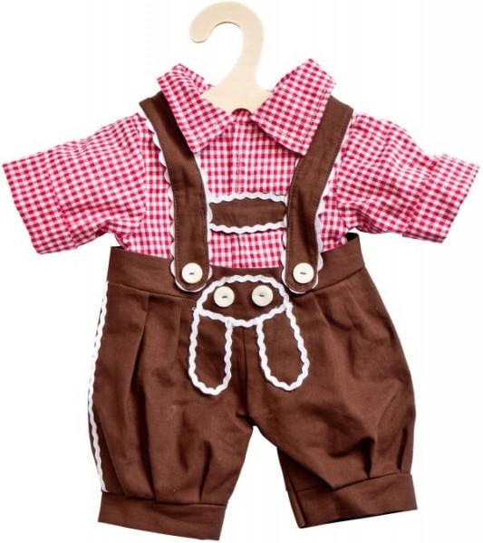 Vedes Puppen-Karohemd + Kniebundhose, Größe 35 - 45 cm Spielzeug