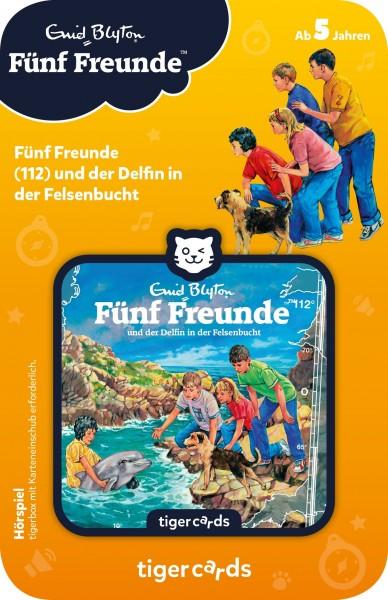 Tigermedia tigercard - Fünf Freunde - Folge 112: und der Delfin in der Felsenbucht Spielzeug