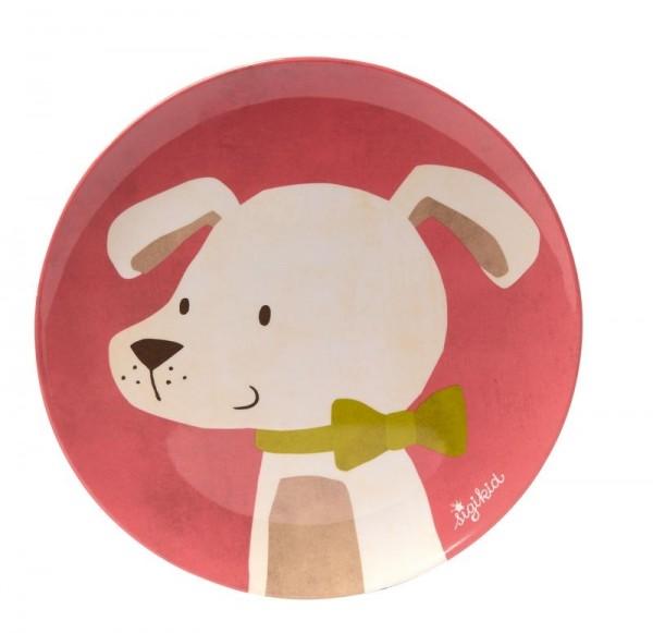 Sigikid Melamin Teller Hund Spielzeug