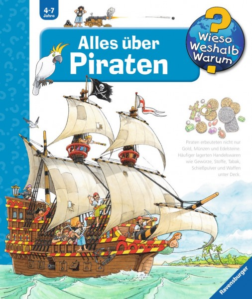 Ravensburger Buch WWW40 Alles über Piraten Spielzeug