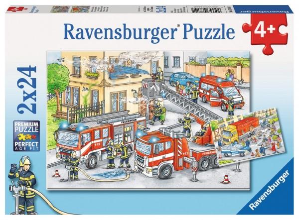 Ravensburger Helden im Einsatz 2 X 24 Spielzeug