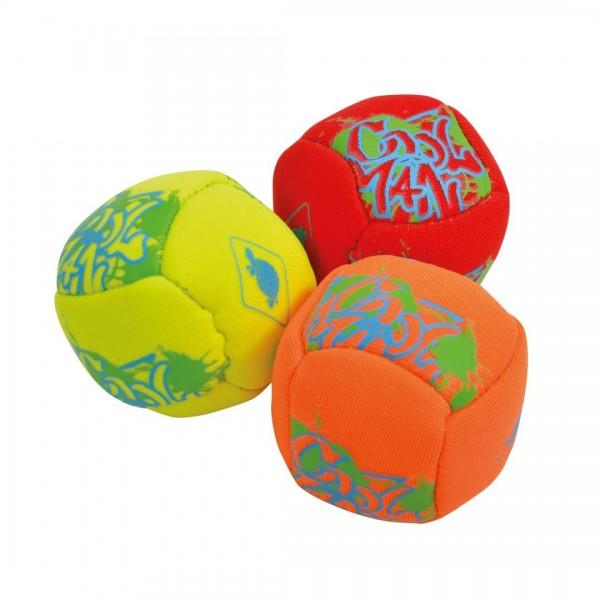 MTS Sportartikel Vertrieb Neopren Mini Funballs 3er Spielzeug