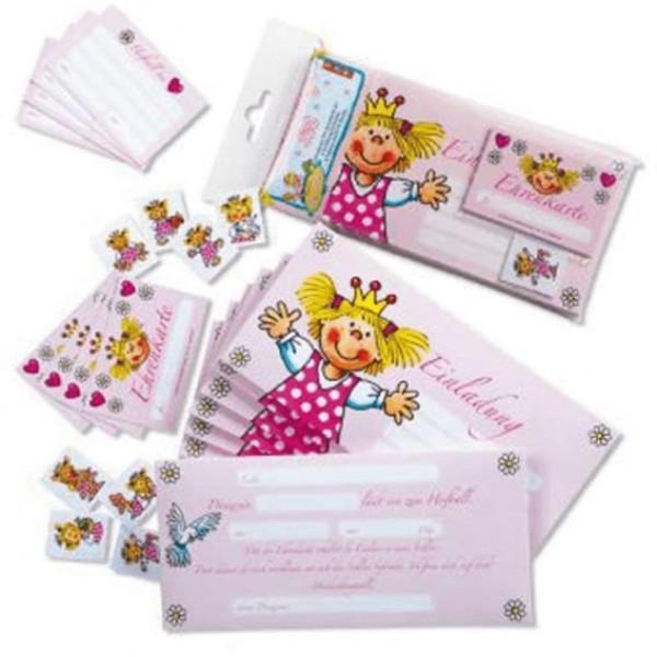 Mauder Lutz Verlag Einladungsfalzkarten-Set Prinzessin Spielzeug