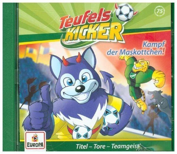 BUSCH CD Teufelskicker 75 Kampf der Maskottchen Spielzeug